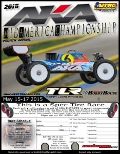 2015 AKA Midamerca Championships Flyer