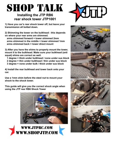 installing JTP1001